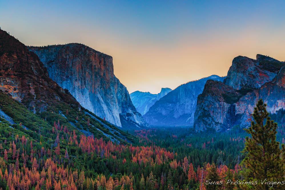 Conheça os Parques Nacionais Americanos