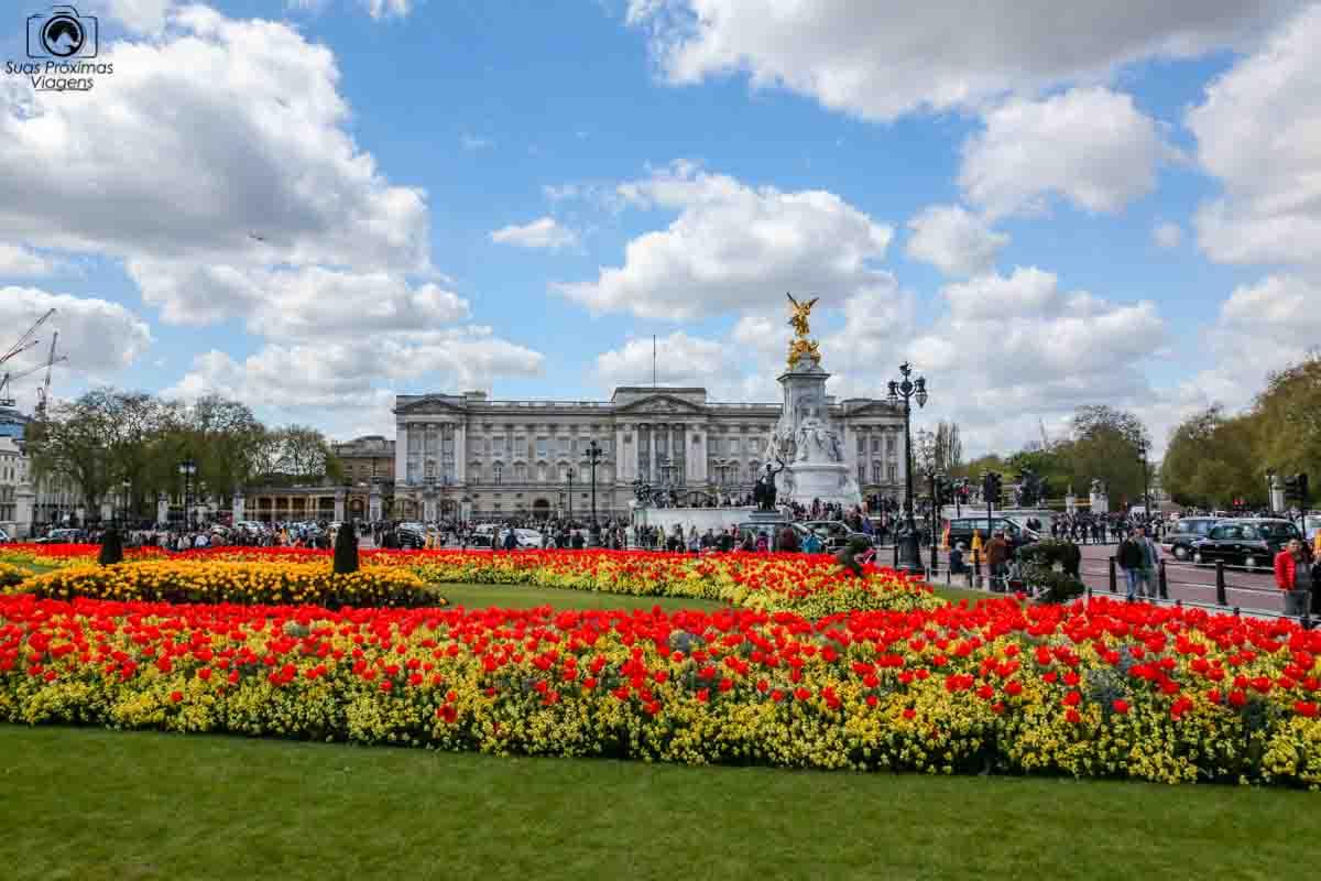 Palácio de Buckinham em Londres